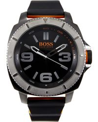 BOSS Orange - 1513109 Sao Paulo Silicone Strap Watch - Lyst