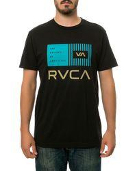 RVCA The Balance Bars Tee - Lyst