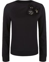Needle & Thread Corsage Sweater - Lyst