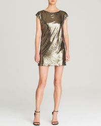 Michael Stars Dress - Cap Sleeve Sequin - Lyst