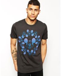 Junk Food Mickey Mouse T-Shirt - Lyst