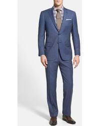 Hart Schaffner Marx Men'S Big & Tall 'New York' Classic Fit Wool Suit - Lyst