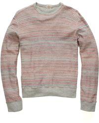 Faherty Brand Ls Crew Neck Sweatshirt - Lyst