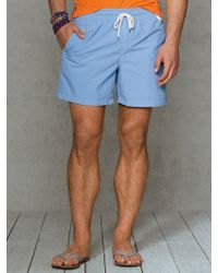 Polo Ralph Lauren Traveler 6 Solid Swim Short - Lyst