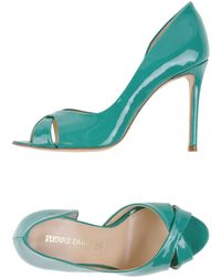 Pierre Darre' Pumps with Open Toe - Lyst