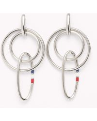 Tommy Hilfiger - Signature Earrings - Lyst