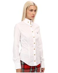 Vivienne Westwood Red Label Classic Cotton Blouse - Lyst