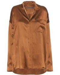 Haider Ackermann Dali Silk Shirt - Lyst