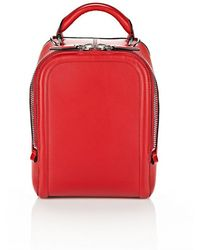 Alexander Wang Small Shoe Satchel In Lacquer - Lyst