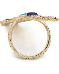 House of Harlow 1960 - Eye Of Wisdom Ring Lapisturquoise - Lyst
