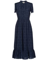 Boy by Band of Outsiders 3/4 Length Dress blue - Lyst
