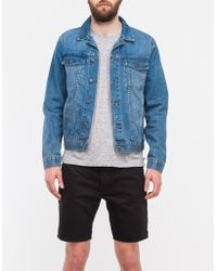 Cheap Monday Staple Denim Jacket - Lyst
