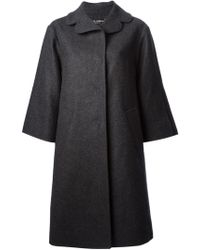 Dolce & Gabbana Oversized Single-breasted Coat - Lyst