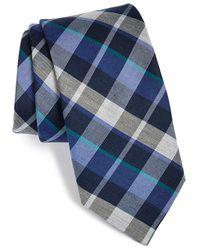 Michael Kors Men'S 'Dash' Woven Plaid Tie - Lyst