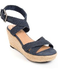 Me Too - Porsha Platform Wedges - Lyst