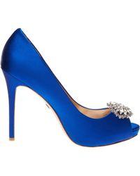 Badgley Mischka Blue Jeannie - Lyst