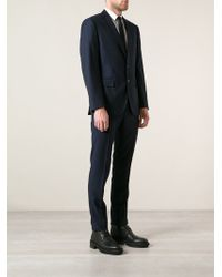 Polo Ralph Lauren Blue Bedford Suit - Lyst
