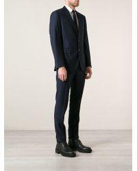 Polo Ralph Lauren Blue Bedford Suit - Lyst