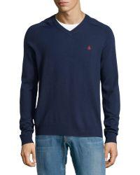 Original Penguin Merino Wool V-Neck Sweater - Lyst