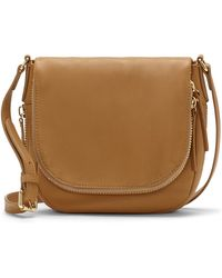 Vince Camuto Baily Leather Crossbody Bag - Lyst