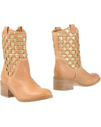 Vic Ankle Boots - Lyst