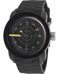 Diesel Men'S Black Silicone And Dial - Lyst