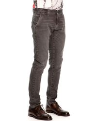 Dolce & Gabbana Faded Distressed Jeans - Lyst