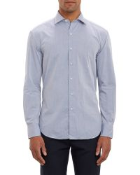 Barneys New York Cotton Shirt - Lyst