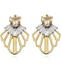 Anna Byers - Tailfeather Earrings - Lyst