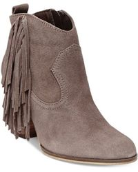 Steve Madden | Ohio Tassled Suede Boots | Lyst