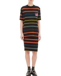 Givenchy Stripe Knit  Jacquard Sweatshirt - Lyst