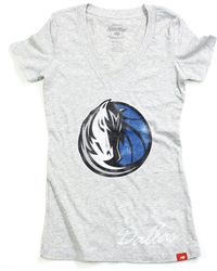 Sportiqe - Women's Short-sleeve Dallas Mavericks V-neck T-shirt - Lyst
