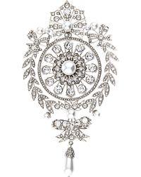 Givenchy - Crystal-Embellished Brooch - Lyst
