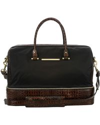 Brahmin - Sylvie Leather-trimmed Travel Bag - Lyst