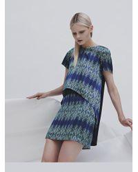 Georgia Hardinge - Blueprint Mini Skirt - Lyst