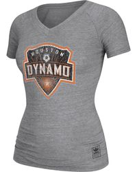 Adidas Womens Houston Dynamo Supersize Tshirt - Lyst