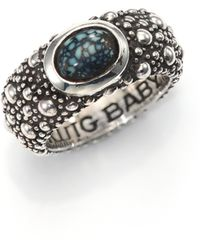 King Baby Studio   Sterling Silver & Turquoise Ring   Lyst
