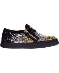Giuseppe Zanotti Studded Sneakers - Lyst