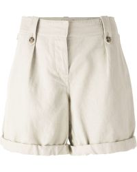 Burberry Brit | Turned Up Cuff Shorts | Lyst