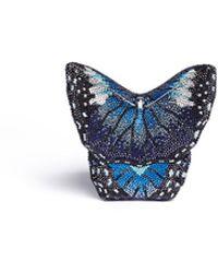 Judith Leiber - Mila New Butterfly Crystal Pavé Minaudière - Lyst