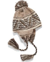 Denim & Supply Ralph Lauren Knit Ear-flap Hat
