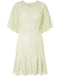 Temperley London Mini Marine Dress - Lyst