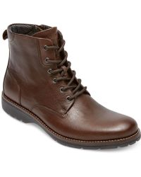 Rockport Tm Plain Toe Boots - Lyst