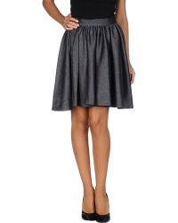 Miss Sixty Mini Skirt - Lyst