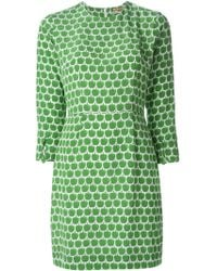Peter Jensen Apple Print Dress - Lyst
