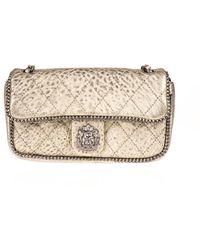 Chanel   Pre-owned: Medium Metallic Leo Lion Flap Bag   Lyst