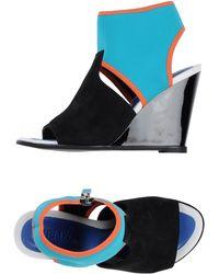 Kenzo Sandals multicolor - Lyst