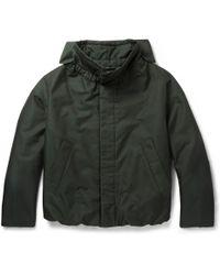 Jil Sander Oversized Cotton-blend Bomber Jacket - Lyst