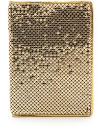 Whiting & Davis - Passport Cover Silver - Lyst