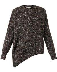 Stella McCartney Asymmetric Woolblend Sweater - Lyst